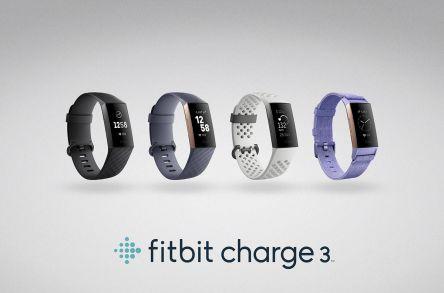 FB409RGGY-EU   FitBit Charge 3 FB409RGGY-EU - Blue Grey   RS Components