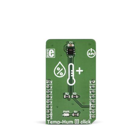 MikroElektronika Temp&Hum 8 Click I2C Development Board MIKROE-3263
