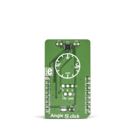 MikroElektronika Angle 2 Click SPI Development Board MIKROE-2338