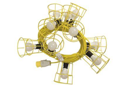 Nightsearcher NSFESTOON22M8W LED Work Light, 5 (10 LED) W, 110 V ac, IP54, IP65
