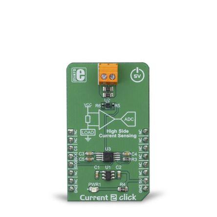 MikroElektronika Current 2 Click SPI Development Board MIKROE-3292