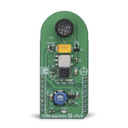 MikroElektronika Ultrasonic 2 Click UART Development Board MIKROE-3302