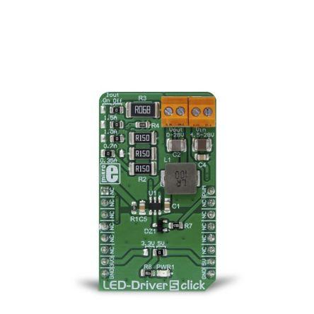 MikroElektronika LED Driver 5 Click PWM Development Board MIKROE-3297