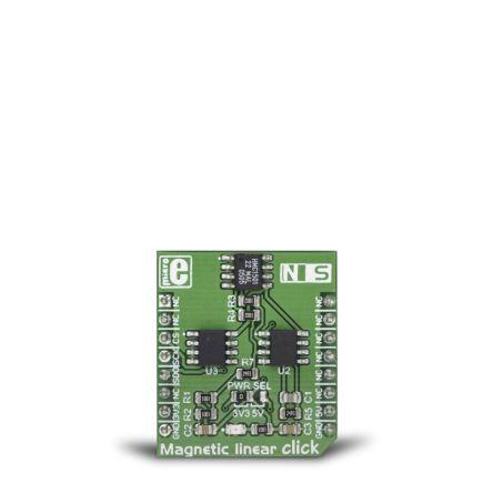 MikroElektronika Magnetic Linear Click Development Board MIKROE-3274