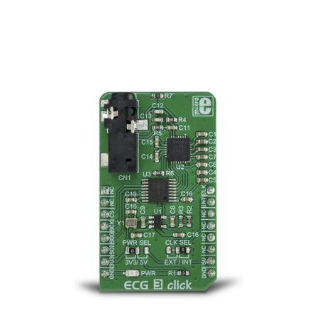 MikroElektronika ECG 3 Click SPI Development Board MIKROE-3273