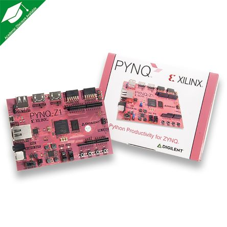 Development Kit PYNQ-Z1 Python Productivity for use with Zynq-7000 ARM, Zynq-7000 FPGA SoC
