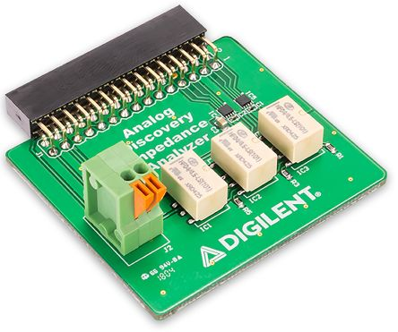 Development Kit Impedance Analyzer for use with Analogue Discovery