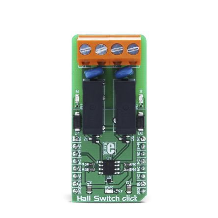 Development Kit Hall Switch for use with Door, Lids, Tray Position Detecting