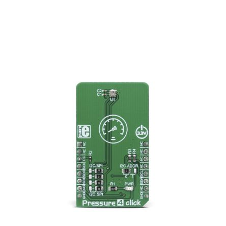 Development Kit Pressure 4 Click for use with Drones, Indoor Flying Toys Navigation, Variometers, Weather Stations