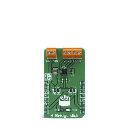 Development Kit H-Bridge Click for use with Accurate Positioning, Driving of Light 3D Printer Elements, Precision
