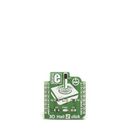 Development Kit 3D Magnetic Sensor for use with Development of Various Gaming Applications (Joystick)
