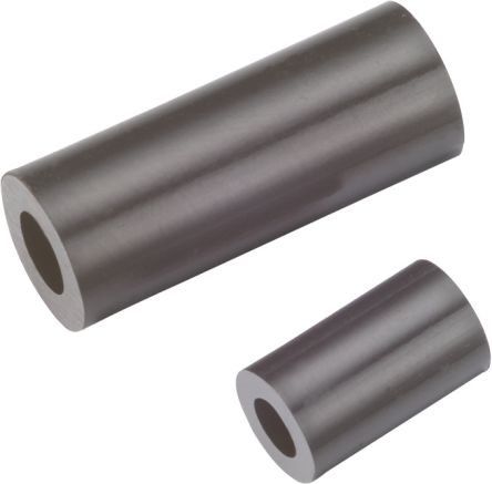 960120042, 12mm High Polyamide Round Spacer With 6mm Diameter and 3.2mm Bore Diameter