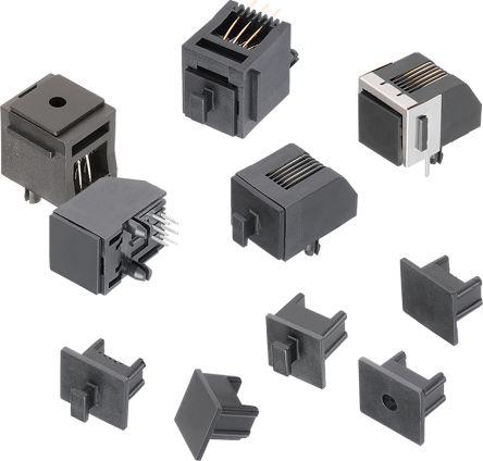 RJ Connector Dust Cap for RJ11 Type Connectors