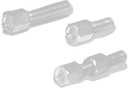 WA-HEX M3 (External Thread), M3 (Internal Thread) Lock Screw Suitable For D-sub for use with D-SUB Connectors