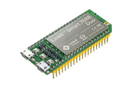 Seeed Studio - 102110017ATmega32U4, MT7688AN Development Board LinkIt Smart 7688 Duo for Arduino 580MHz