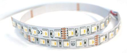 PowerLED RGBW LED Strip 5m 24V dc, F12-RGBNW-24-60-65-FP