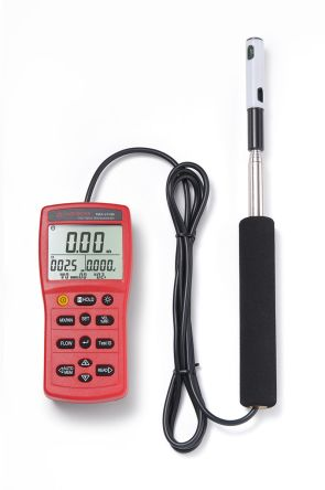 TMA-21HW Hotwire 30m/s Max Air Velocity Air Flow, Air Velocity, Humidity, Temperature Anemometer