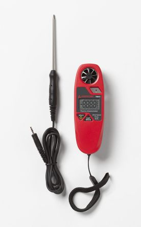 Beha-Amprobe TMA5 20m/s Max Air Velocity Air Velocity, Humidity, Temperature Anemometer