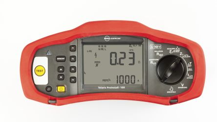 PROINSTALL-100-EUR Electrical Tester 1000V dc  , Earth Resistance Measurement With USB