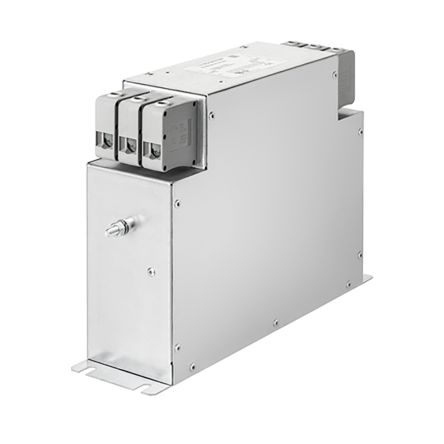 Schaffner, FN3287 16A 530/305 V ac 60Hz Power Line Filter, Screw 3 Phase