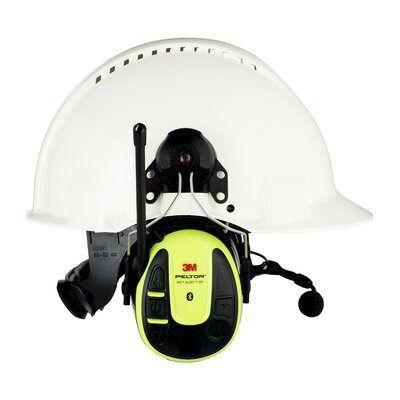3M WS Alert Series Listen Only Communication Ear Defender, 30dB