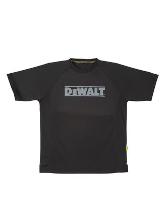 DeWALT PWS Black Polyester T-Shirt, UK- XXL