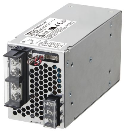 Omron DIN Rail Power Supply - 100 → 240V ac Input Voltage, 12V dc Output Voltage, 27A Output Current