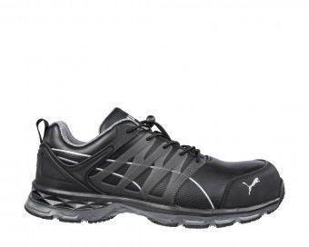 Puma Safety Velocity 2.0 Black Men Safety Shoes, UK 7.5, EU 41