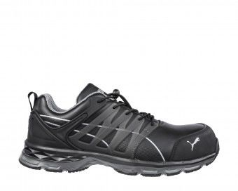 Puma Safety Velocity 2.0 Black Men Safety Shoes, UK 8, EU 42