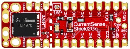 Infineon S2GOCURSENSETLI4970TOBO1, Shield2Go Equipped with TLI4970-D050T4 - XENSIV™ Magnetic Current Sensor Magnetic