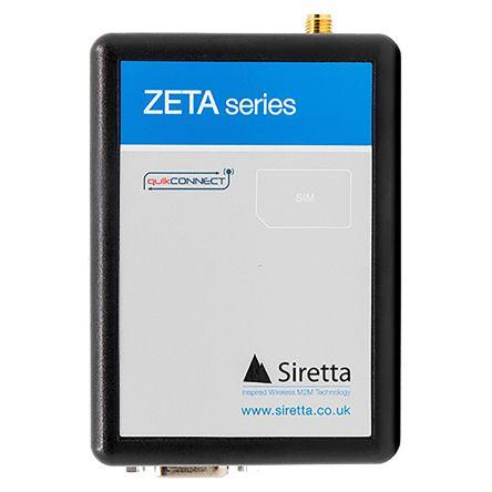 Siretta GSM & GPRS Modem ZETA-N-LTE(EU), 1800 (GSM, GPRS) MHz, 900 (GSM, GPRS) MHz, SMA Connector