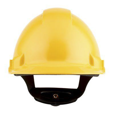 G3000 Yellow ABS Hard Hat, Ventilated