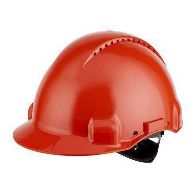 G3000NUV-RD SAFETY Helmet Red Ratchet