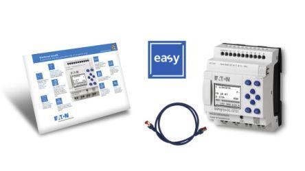 Eaton EASY-E4 Starter Kit, 24 V dc Transistor, 8 x Input, 4 x Output With Display