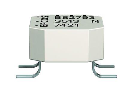 TDK 2.2 mH 500 mA Common Mode Choke 400mΩ 42 V ac, 80 V dc
