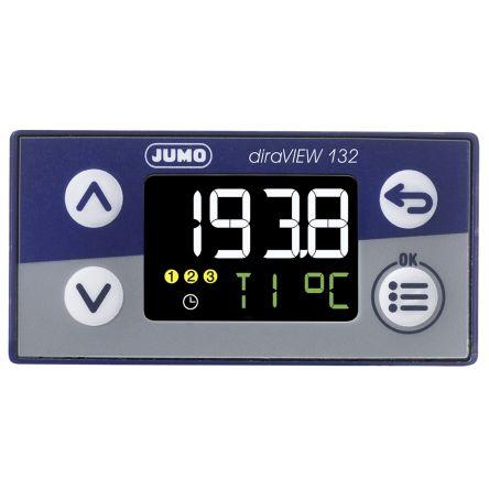 00694781 , LCD, Segment Digital Panel Multi-Function Meter for Pressure, Temperature, 48mm x 24mm