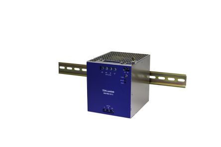 TDK-Lambda DIN Rail Panel Mount Power Supply - 180 → 264V ac Input Voltage, 24V dc Output Voltage, 40A Output