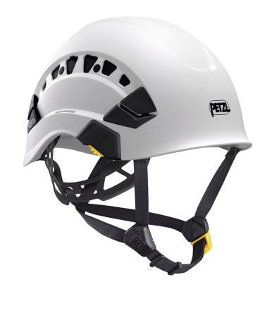 Petzl Vertex Vent White Hard Hat with Chin Strap, , Ventilated