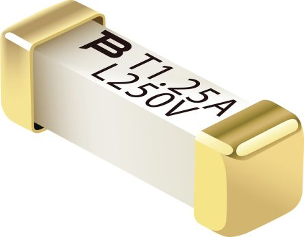 Bourns 1.25A F Non-Resettable Surface Mount Fuse, 250V ac