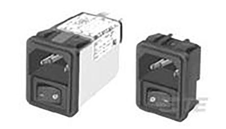 TE Connectivity IEC Inlet Filter 10CS1 M0