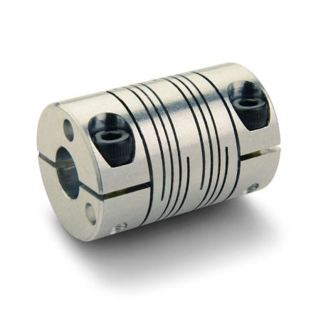 57.2 mm Length Ruland FSMR38-19-19-A 7075 Aluminum Beam Coupling 6-Beam Set Screw Style 19 mm x 19 mm Bores 38.1 mm OD