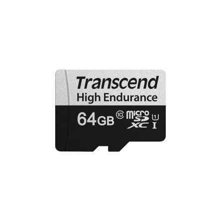 Transcend 64 GB MicroSDXC Card Class 10, UHS-I U1