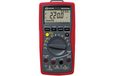 Beha-Amprobe AM-555-EUR Digital Multimeter, 20A ac 1000V ac 20A dc 1000V dc 60Ω