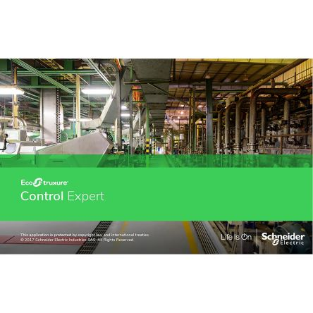Schneider Electric License V14 0 for use with EcoStruxure Control Expert