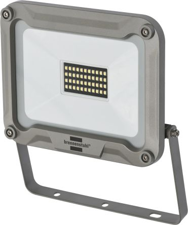 brennenstuhl JARO LED Floodlight, 44 LED, 30 W, 2930 lm, IP65 240 V