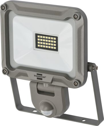 brennenstuhl JARO LED Floodlight, 28 LED, 20 W, 1870 lm, IP44, IP65 PIR 240 V