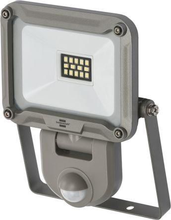 brennenstuhl JARO LED Floodlight, 14 LED, 10 W, 900 lm, IP44, IP65 PIR 240 V
