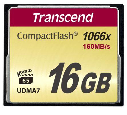 Transcend CompactFlash 16 GB MLC Compact Flash Card