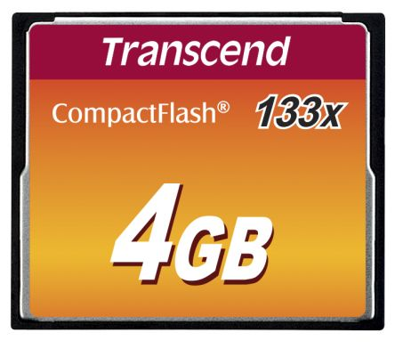 Transcend CompactFlash 4 GB MLC Compact Flash Card