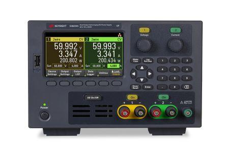 Keysight Technologies Digital Bench Power Supply 400W, 2 Output 0 → 60V dc 0 → 10A